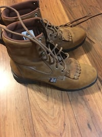 brown Justin leather  boots Grand Bay, 36541