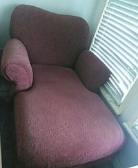 red fabric chaise lounge Houston, 77096