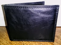 black leather bi-fold wallet Silver Spring, 20906