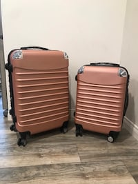 BRAND NEW ROSE GOLD 2 piece luggage set Los Angeles, 91401