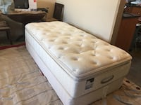 Extra long Simmons twin bed