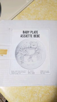 Baby Plate by Regal Greetings Vancouver, V5W 3C4