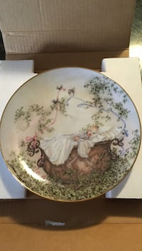 Pride and joy by Catherine Simpson decorative plate Toronto, M6A 1G4