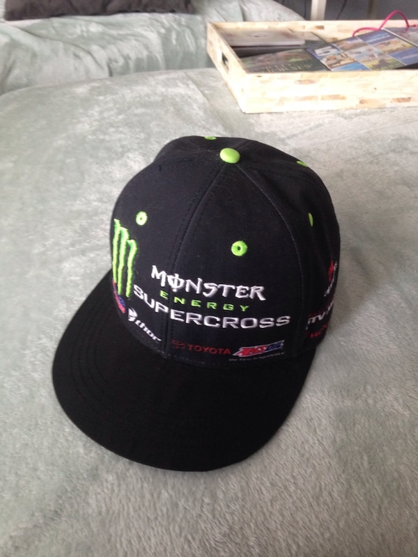 b079e6507be Used Limited addition monster energy drink motorcross hat snapback best  offer takes for sale in San Diego - letgo