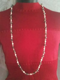 silver-colored chain necklace Merced, 95348