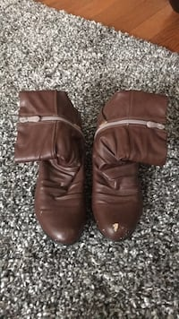 Brown boots size 39 North Dumfries