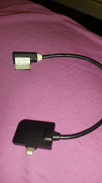 black 30 pin to lightning cable Ontario, M4A