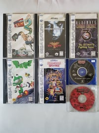 Sega Saturn Games - Prices in Info Vaughan, L4L 2C2