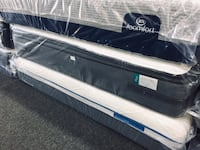 Sealy Posturepedic Cushion Firm Euro Pillowtop Plus King Mattress(NEW) Lawrenceville, 30046