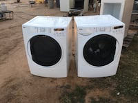 white front load washing machine and dryer Tucson, 85711
