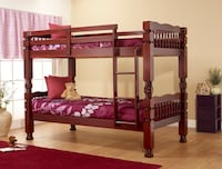 Wood Convertible Bunk Beds on SALE w/BOTH mattress NO Credit Needed Essex