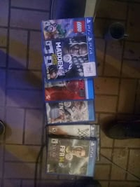 Ps 4 games Anderson, 29625