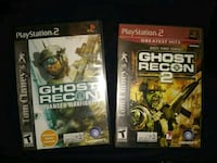 Ghost Reckon one and 2 for ps2 Culloden, 25510