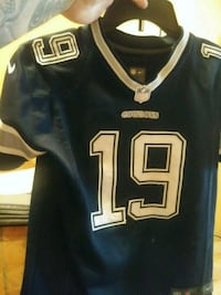 black and white NFL # 24 jersey null