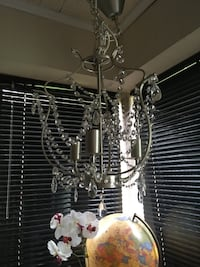Gray framed clear crystal chandelier Hagerstown, 21740