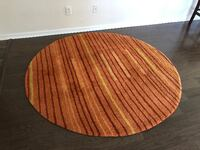 Round Area Rug SUFFOLK