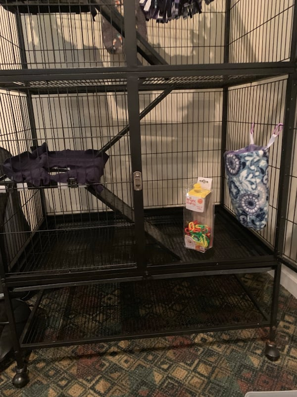 Large animal cage: sugar gliders large rat ferrets birds etc. 1fa4332a-363b-463c-88c2-783f5936d2ce