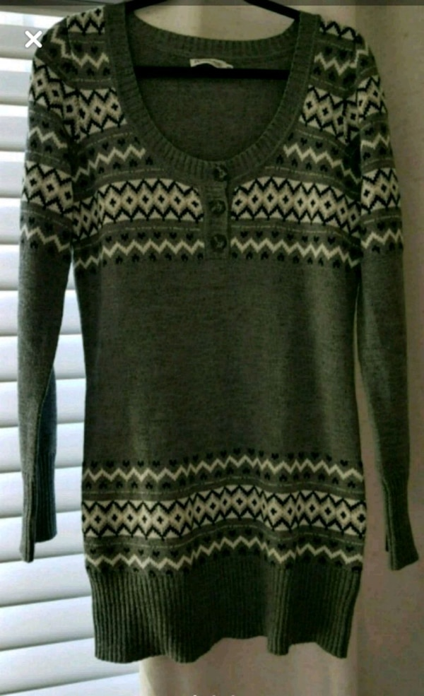 Knit tunic top 0