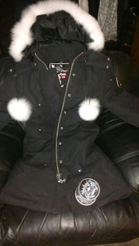 Authentic moose knuckle women's winter jacket.