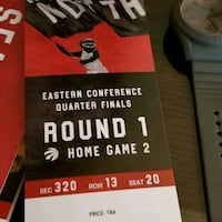 Eastern Conference quarter finals round 1 home game ticket
