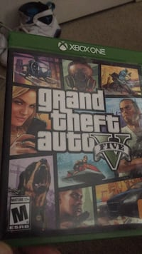 Grand Theft Auto 5 Xbox 360 game case Sterling, 20166
