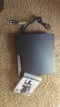 black Sony PS3 slim console Portland, 97218
