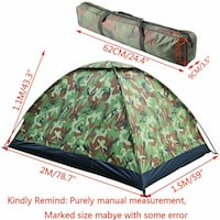 2 Person Camping Tent Backpacking Hiking Family Beach Camo Gresham, 97030