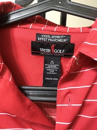 Mike Weir golf shirt Dollard-des-Ormeaux, H9G 2S2