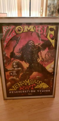 Rob zombie poster Taneytown, 21787