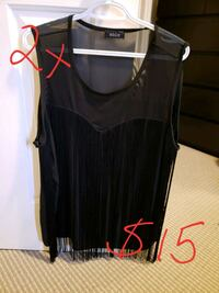 women's black sleeveless top Spruce Grove, T7X 4M6