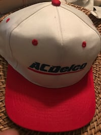 white and red fitted cap Garden Grove, 92841