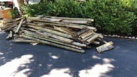 Free wood from deck lakeshore and Clarkson-Lorne park Mississauga, L5A 2J7