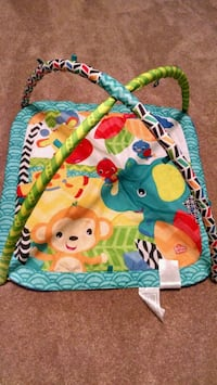 baby's green and blue activity gym Virginia Beach, 23452