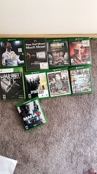 Six xbox one game cases Everett, 98204