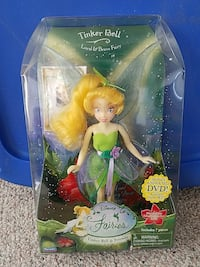 Disney Fairies Tinker Bell doll with clear package