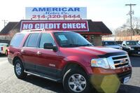 2007 Ford EXPEDITION Red Dallas, 75218