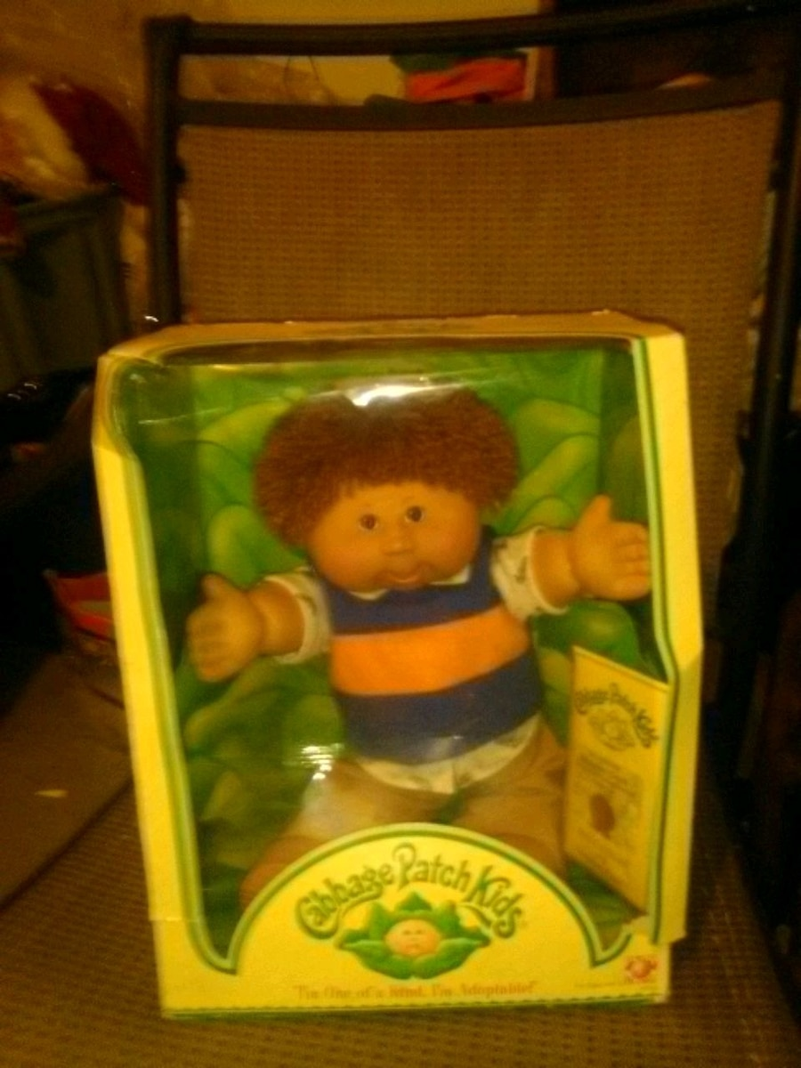 Cabbage Patch Kids doll box, used for sale  Long Beach