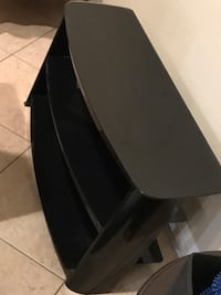 TV Stand Glass and metal. Las Vegas, 89138