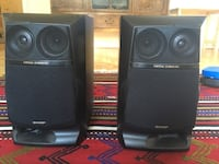 Sharp 50w rms power speaker pair, in great condition Uppsala, 752 40