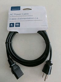 Brand new power cable for printer or desktop Toronto, M2N 7H6