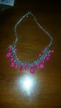 Pink bead necklace  Parkville, 21234