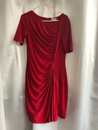 Size 8 red sheath Calvin Klein dress Washington, 20009