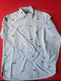 Ralph Lauren (FLAGS) long sleeve button down New York