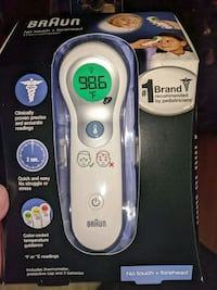 Braun no touch & forehead thermostat Manchester, 03103
