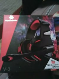 black and red gaming mouse box 288 mi