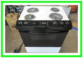 "Whirlpool 30"" Slide-In Electric Range RS310PXGW1"