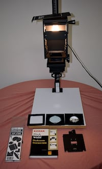 Barely-used Beseler Printmaker 35 Condenser Enlarger with Accessories
