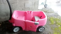 toddler's pink ride on wagon Burnaby