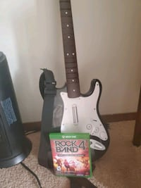 Rock band 4 with guitar xbox one Des Moines, 50320