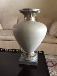 white and gray table lamp Weston, 33331